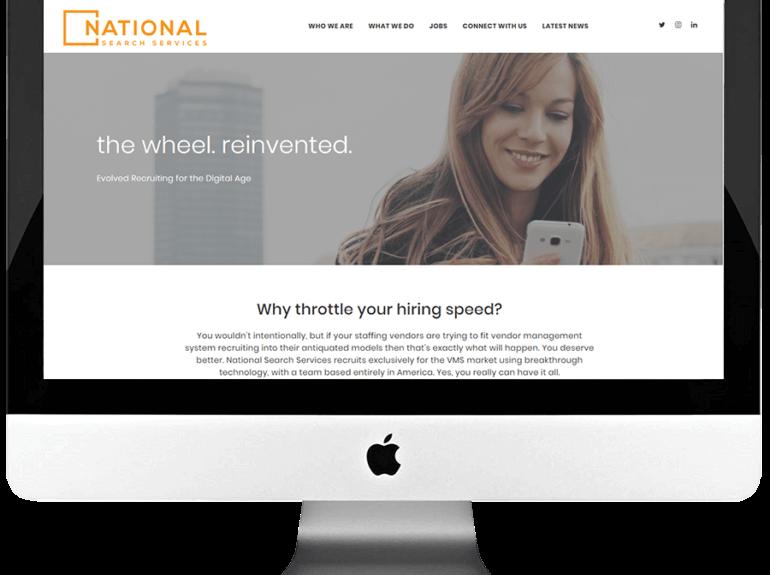 Staffing Firm Responsive WordPress Website Design