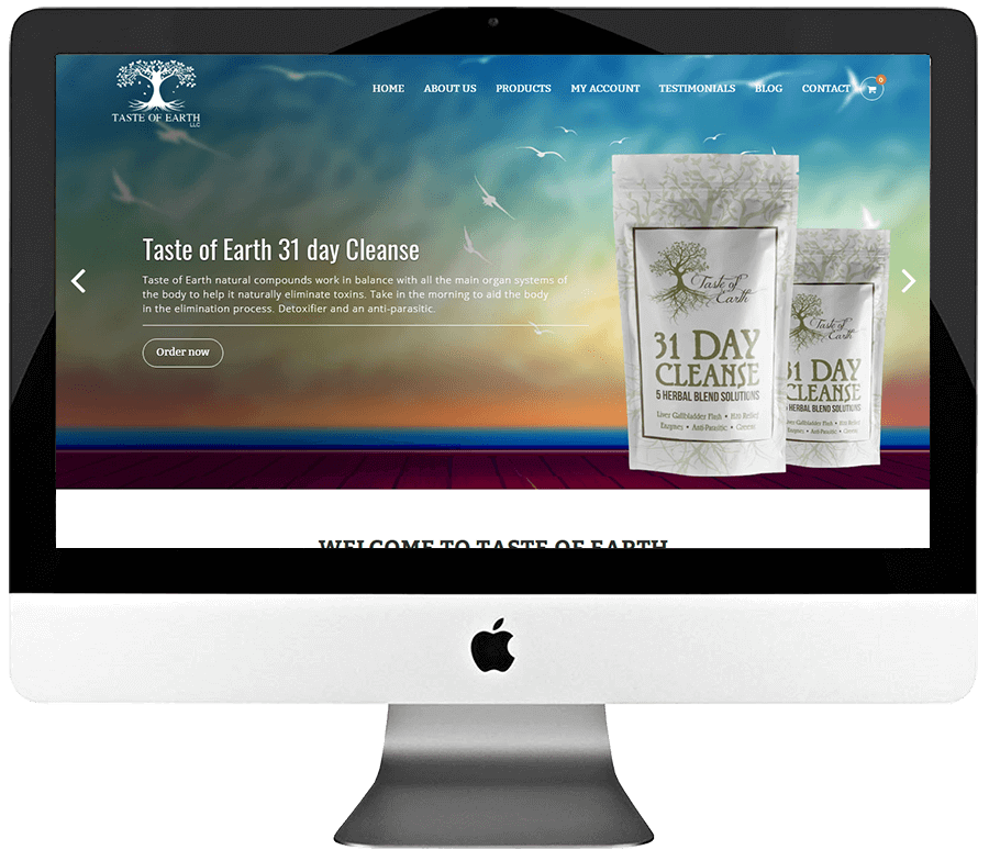 Herbal Supplements Responsive WooCommerce Store Design & Development