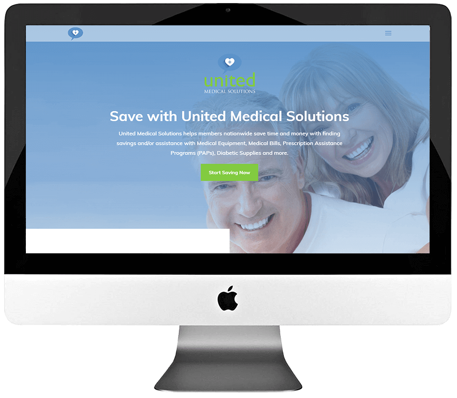 Medical Solutions Company PSD to WordPress Website Development