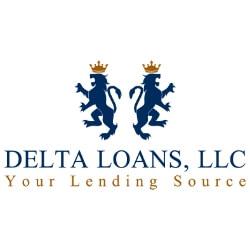 Delta Loans LLC Logo Design