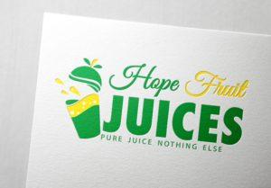 Fruit Juice Company Logo Design