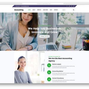 Accounting Firms WordPress Website Development Agency