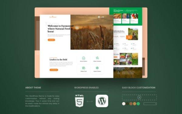 Agriculture Industry WordPress Website Design