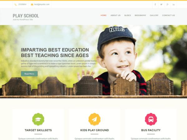 Daycare WordPress Website Design