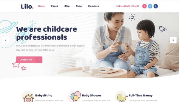 Daycare WordPress Website Design Agency