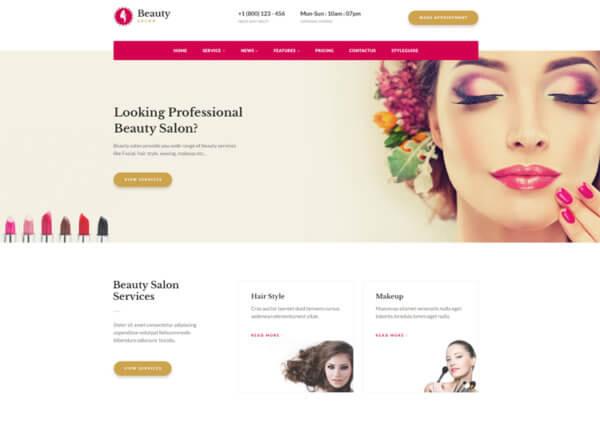 Hair Salon WordPress Website Design Agency