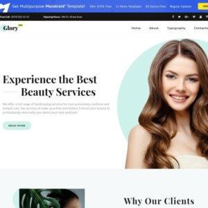 Hair Salon WordPress Website Design Services