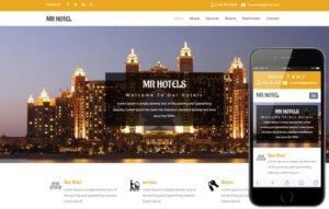 Hotel WordPress Website Design