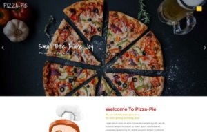 Pizza Shop WordPress Website Design
