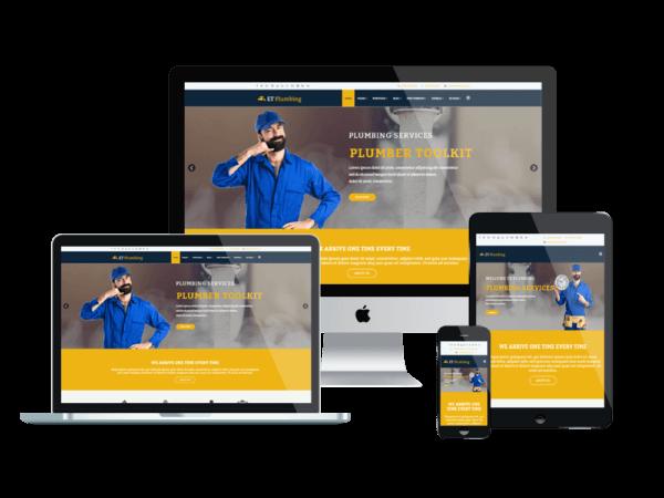 Plumbing WordPress Website Design Agency