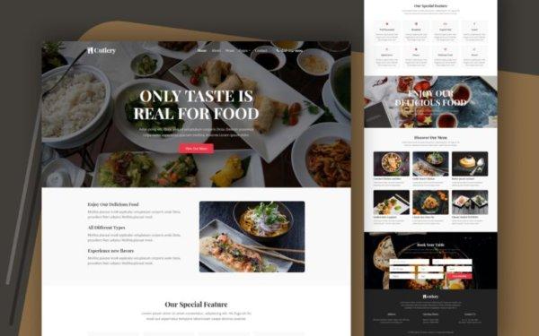 Restaurant WordPress Website Design
