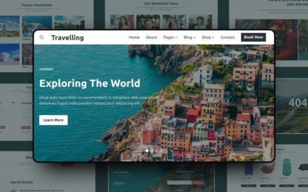 Travel Agency WordPress Website Design